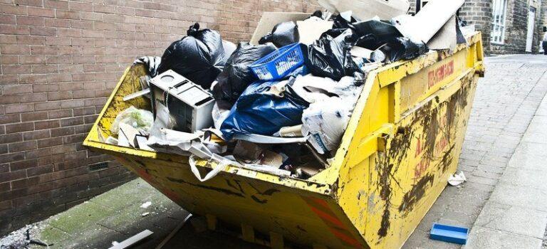 извозване на строителния боклук